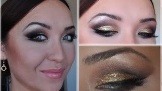 ����������� ������� ������ - HOLIDAY GOLD MAKEUP