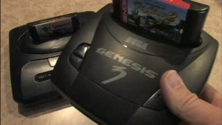 Classic Game Room - SEGA GENESIS MODEL 3 review sega genesis model 3 �����