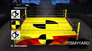WWE 12 - Create an Arena Mode!!! - WWE 12 ����� wwe
