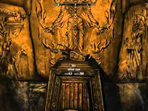 TES V: Skyrim - Forelhost, Way to Glass Dragonclaw   Local Map   Puzzle что такое в skyrim glass ?