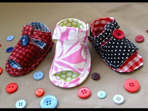How to Sew Baby Tiptoe Sandals