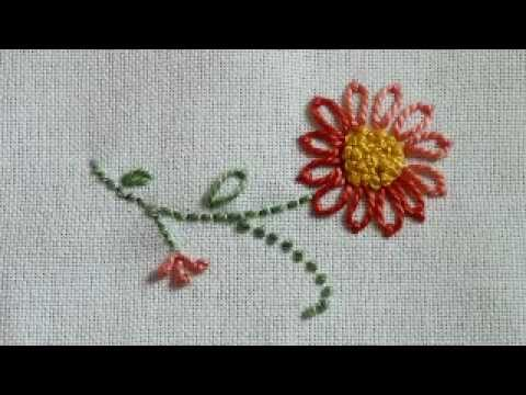 French Knot Tutorial, from NeedleKnowledge com вышивание пейзажа лентами