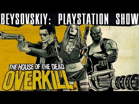 The House Of The Dead: OVERKILL [PS3] The House Of The Dead: OVERKILL PS3 HQ