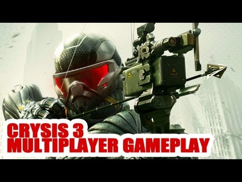 Crysis 3 - Multiplayer gameplay: more details on Crash Site and Hunter mode