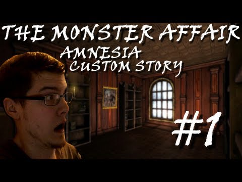 Hamoth Plays - The Monster Affair - Part 1 - (Amnesia Custom Story) HAMOTH CAN'T READ!