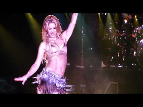 "Shakira ""Ojos asi"" Live in Moscow 2011 шакира клипы 2013"