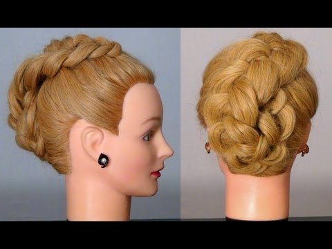 �������� � �������� �� ������� ������. Braided hairstyles tutorial �������� ����� ������ �������� �������� �� ������� ������ � ��������� � ���� �������������